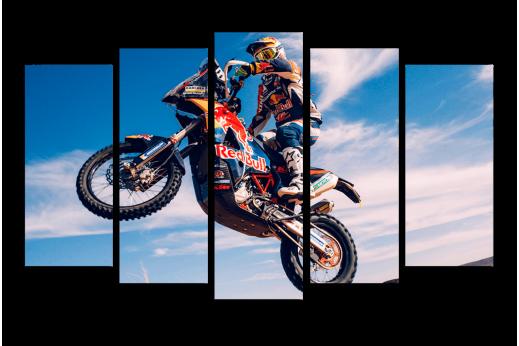 Модульная картина Мотоцикл Гоночный байк